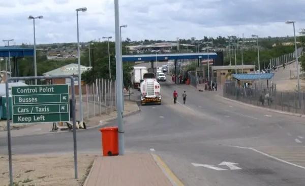 Beitbridge border
