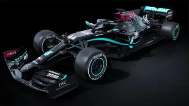 Black F1 Merc