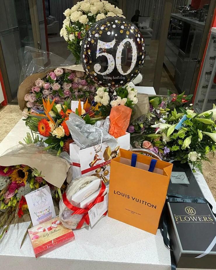 Inside Connie Ferguson's 50th birthday party