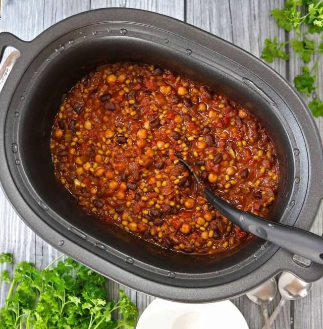 Three bean stew