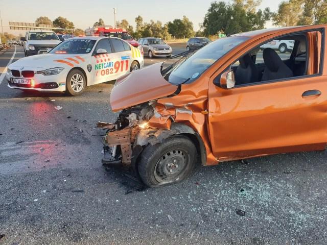 Three injured