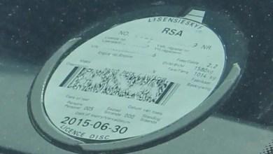 car licence