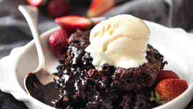 Photo of A classic chocolate self saucing pudding that is soo easy to make