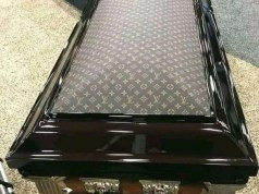 Louis Vuitton coffin