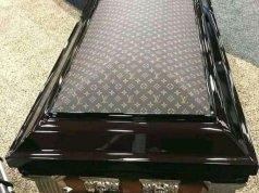 Louis Vuitton coffin