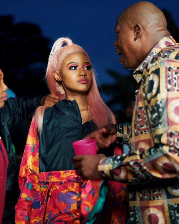 Mampintsha and Babes Wodumo