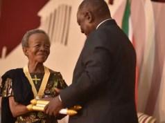Mary Twala and Cyril Ramaphosa