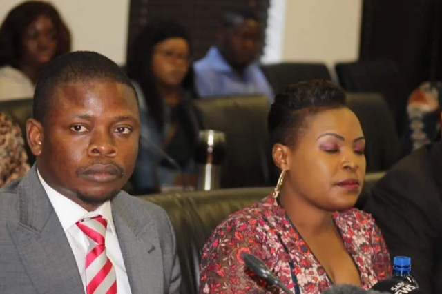 Prophet Bushiri and wife
