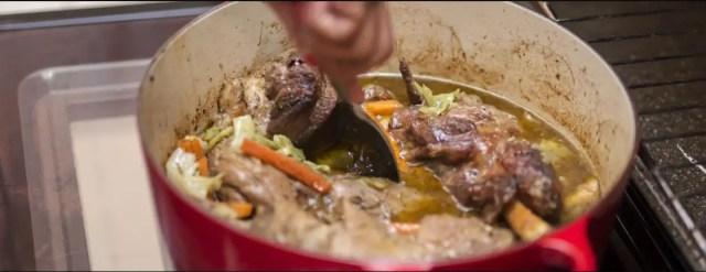 Somizi Lamb casserole