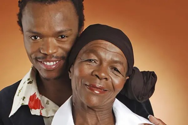 Somizi and Mom