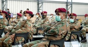 South African National Defence Force (SANDF) said that more military health services personnel