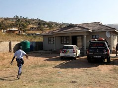 The house in the semi-rural community of Nteke, west of Durban, where two young boys were allegedly poisoned by their father