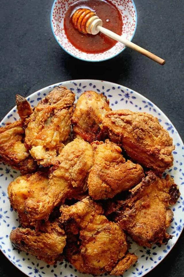 buttermilk-fried chicken