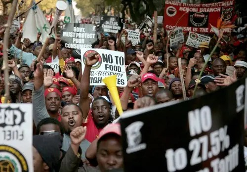 Cosatu protests