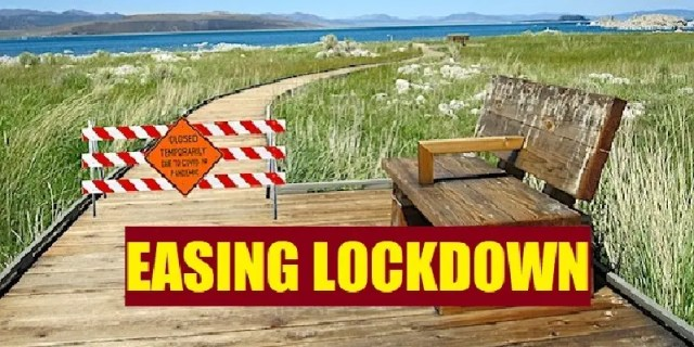 Easing lockdown
