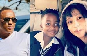 Jub Jub and Kelly Khumalo