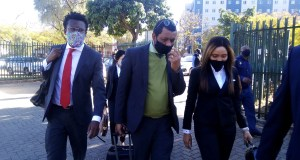 Norma Gigaba aka Mrs Gigabyte arriving at court