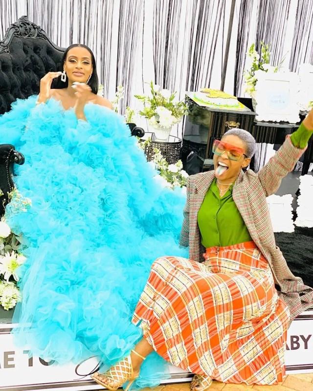 Thobeka Majozi baby shower
