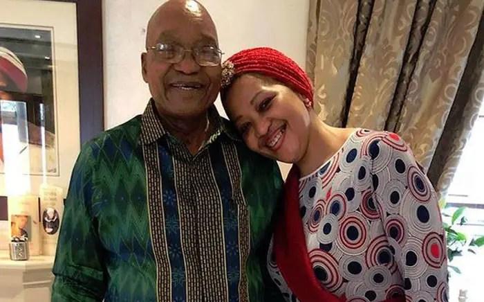 Tobeka Madiba Zuma and Jacob