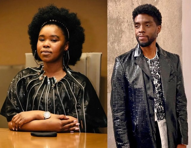 Chadwick Boseman and Zahara
