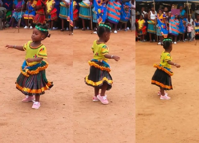 Dancing little Tsonga girl melts hearts