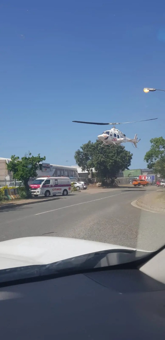 Factory worker seriously injured