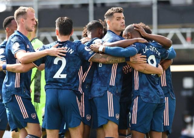 Fulham 0 -3 Arsenal