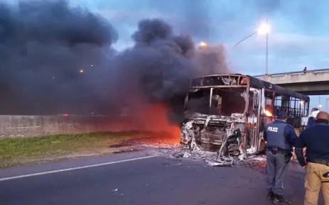 Golden Arrow Bus Services arson