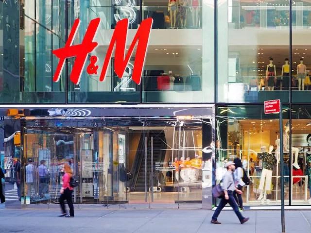 Swedish clothing giant H&M