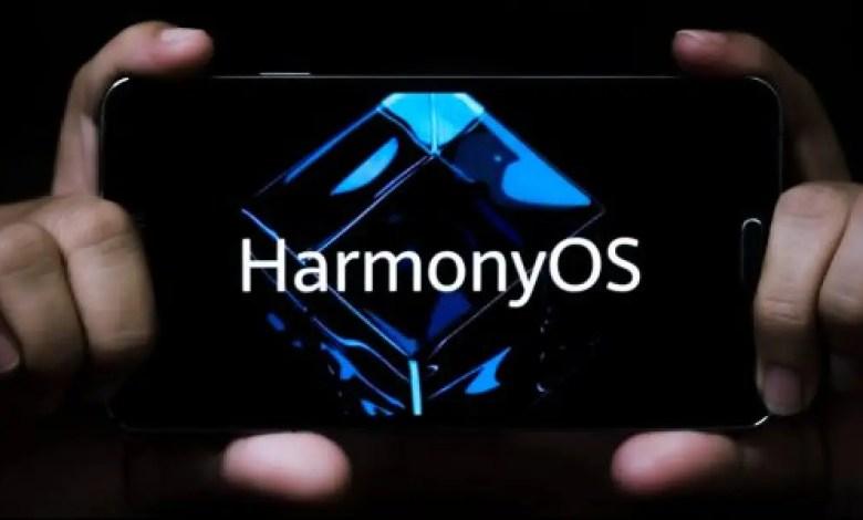 HarmonyOS smartphone