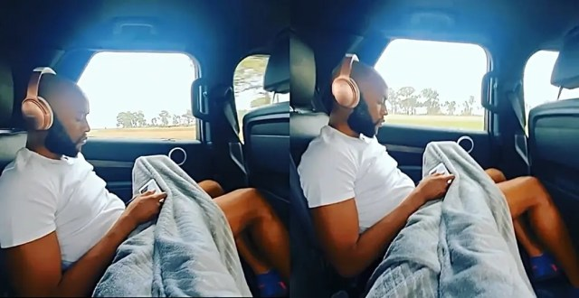 Inside Somizi and hubby Mohale road trip
