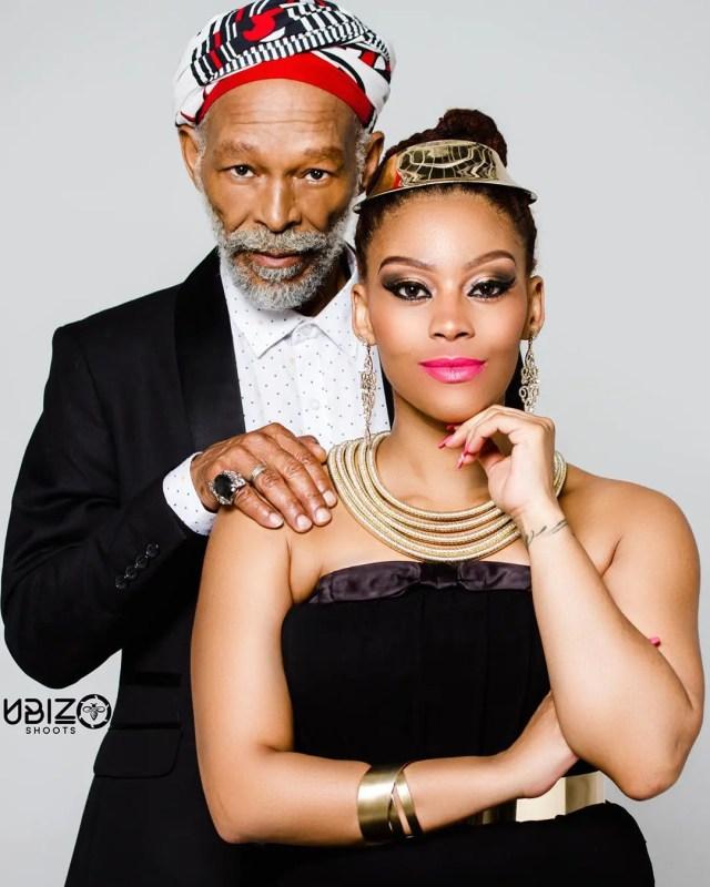 Letoya Makhene and Blondie