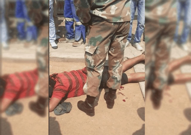 Limpopo soldier shoots man for 'not wearing face mask'