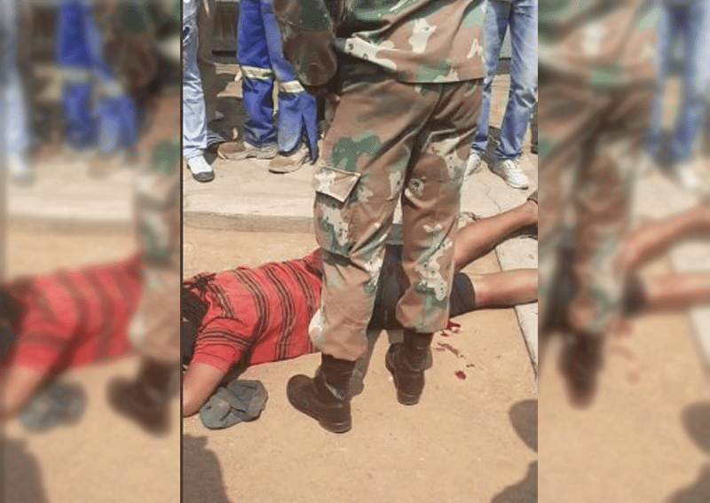 Limpopo soldier shoots man for'not wearing face mask'