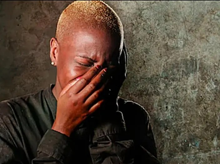 Magosha crying