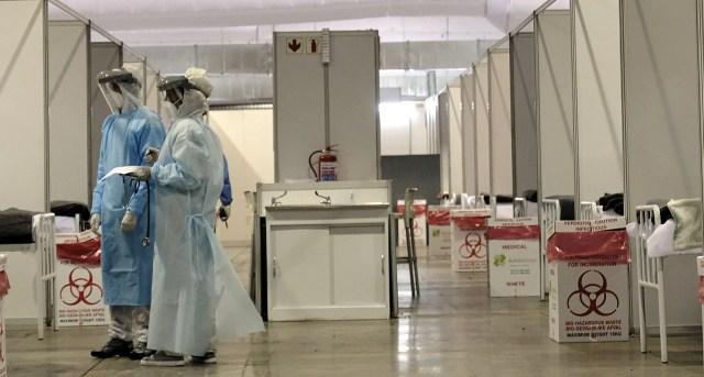Gauteng Health MEC inspects NASREC field hospital