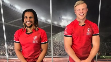 Selvyn Davids and JC Pretorius
