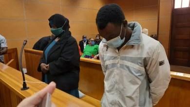 Sophy Mmako and Lazarus Mahlo