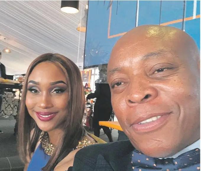 Zoe Mthiyane and Rapulana Seiphemo