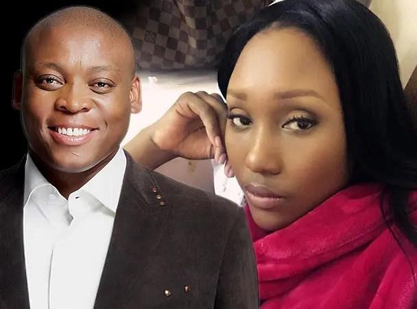 Zoe Mthiyane and Tau