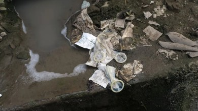 Plumber removes 23 used condoms from married couples home