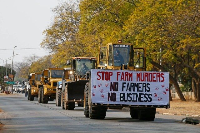 Free State farm murder protest