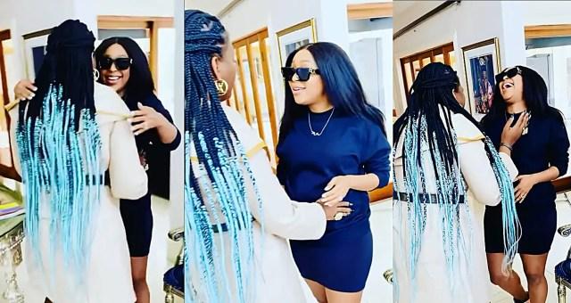 Minnie Dlamini and Shauwn Mkhize