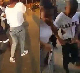Video: Teenagers caught having S e x inside shopping mall
