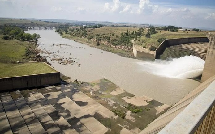 Rain increases Vaal Dam levels