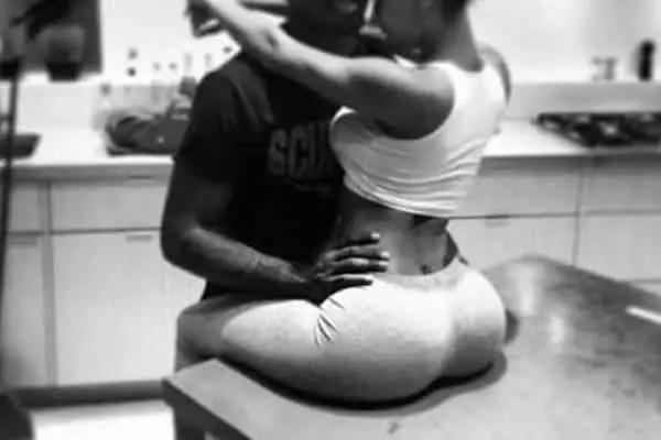 sex in the kitchen black couple pleasure sex