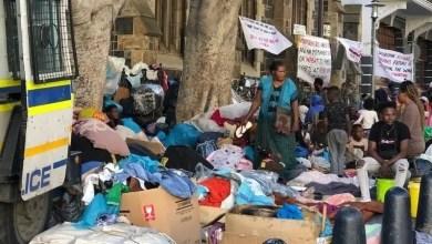 Greenmarket Square refugees