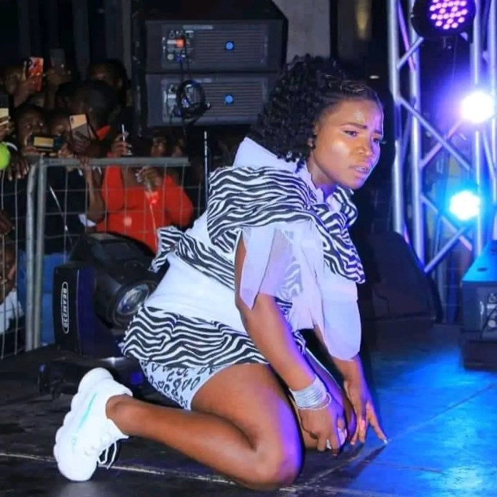 SAD: Hard times hit Makhadzi as her ex-manager disappears with her money