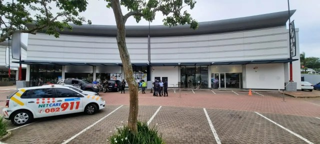 Man shot outside Umhlanga bank
