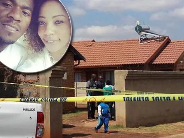 Senzo Meyiwa death scene